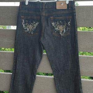 Versace jeans Women's size 29 black denim